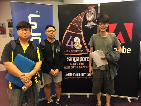 Sinh vien Hoc vien MDIS tham gia cuoc thi lam phim tai Singapore - Anh 2