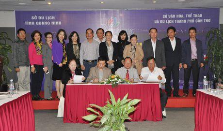 Thuc day hop tac phat trien du lich Quang Ninh - Can Tho - Anh 2