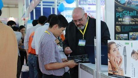 Khai mac Hoi cho Vietnam Expo 2016 va trien lam Vietnam Hardware & Hand Tools 2016 - Anh 1