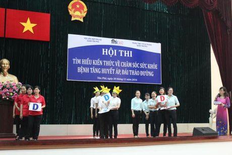 Hoi PN Q.Tan Phu: Truyen thong kien thuc cham soc suc khoe cho hoi vien - Anh 1