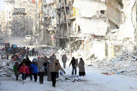 Nga va luc luong doi lap Syria ban ve ngung ban tai Aleppo - Anh 1