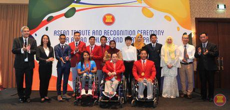 ASEAN vinh danh cac van dong vien Olympic va Paralympic Rio 2016 - Anh 1