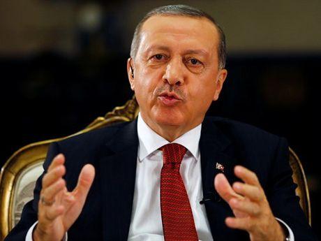 Tong thong Erdogan: Tho Nhi Ky xam nhap Syria de tan cong khung bo - Anh 1