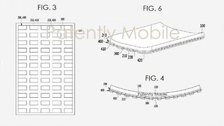 Samsung da duoc cap bang sang che man hinh uon cong moi - Anh 3