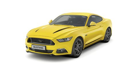 Ford Mustang Black Shadow Edition va Blue Edition trinh lang - Anh 1