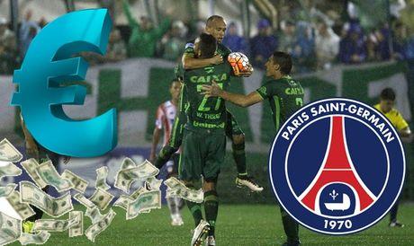 Thuc hu thong tin PSG tang CLB Chapecoense 40 trieu euro - Anh 1