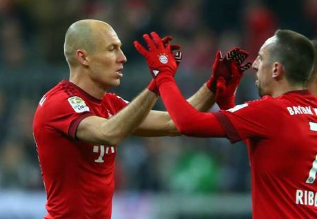 Ribery doc thuc BLD gia han voi Robben - Anh 1