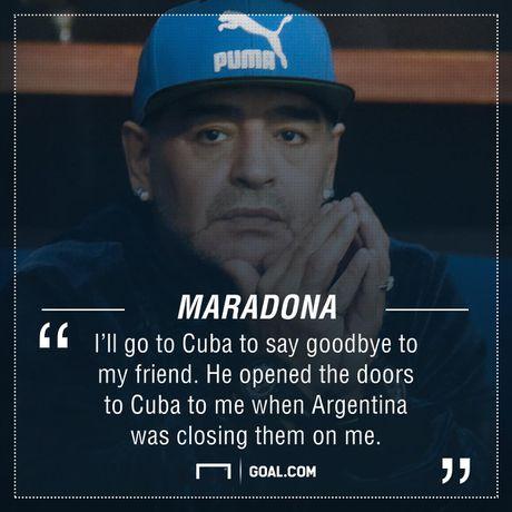 Fidel Castro da cuu mang Maradona nhu the nao? - Anh 2