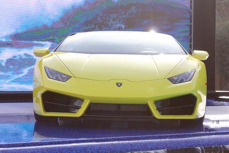 Lamborghini Huracan LP580-2 Spyder chot gia 26 ty tai VN - Anh 3