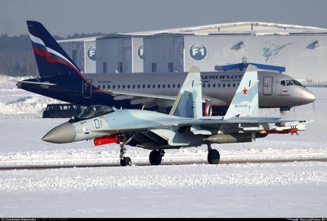 Chet me he thong huan luyen tiem kich Su-35 cua Nga - Anh 2