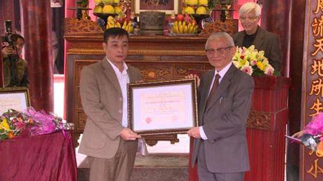 Trao Giai thuong Su hoc Pham Than Duat lan thu XVII - Anh 1