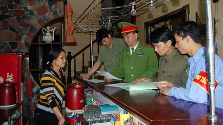 Ha Noi: Tong kiem tra toan dien cac co so kinh doanh dich vu van hoa - Anh 1