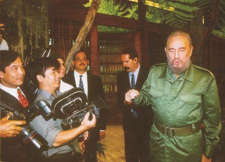 Gap go Fidel- dac an cua cuoc doi lam bao - Anh 1
