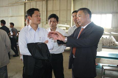 Ong Dinh Doan Loi, Chu tich HDQT Cty CP Vat lieu cach nhiet Viet Nhat: 'Thi truong ket bac con rat rong lon' - Anh 2
