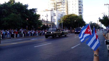 Cuba tien hanh le ruoc tro cot lanh tu cach mang Fidel Castro - Anh 2