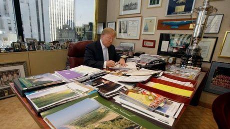 Ong Trump: Lam tong thong quan trong hon kinh doanh - Anh 1