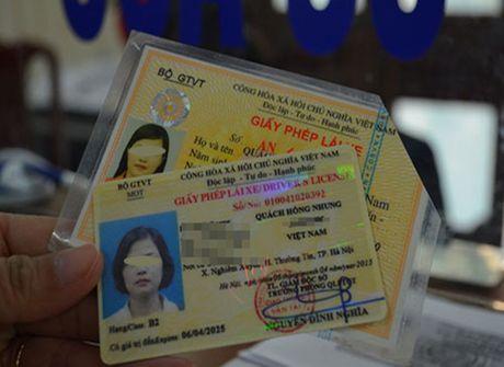 Khong bi phat va thi lai ly thuyet khi cham chuyen doi GPLX - Anh 1
