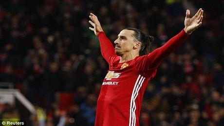 Ibrahimovic toa sang, Man Utd de bep West Ham - Anh 1