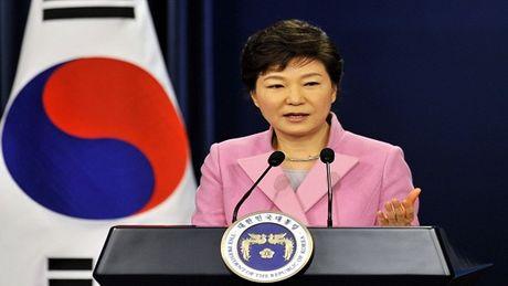 Phe doi lap hoi du so phieu de luan toi Tong thong Park Geun-hye - Anh 1