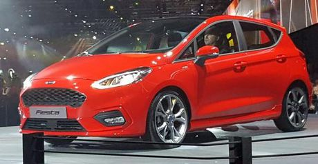 Can canh nhung chiec Ford Fiesta 2017 moi trinh lang - Anh 1