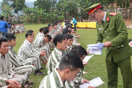 Trai giam Hong Ca ron rang trong ngay dac xa - Anh 3