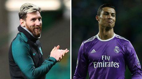 """Sieu kinh dien Barca – Real: Ronaldo """"chat"""" hon Messi - Anh 1"""
