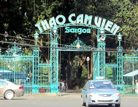 Xay dung bai xe ngam tai Thao Cam vien - Anh 1