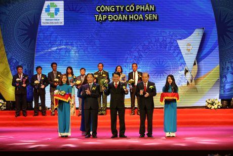 Tap doan Hoa Sen lien tuc nhieu nam lien dat Thuong hieu quoc gia - Anh 1