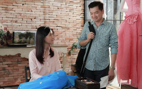 A Hau Hoang Oanh bi bat gap yeu nguoi da co con rieng - Anh 3