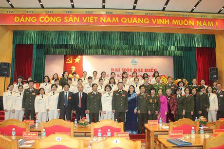 Hoi Phu nu Bo Cong an huong manh ve co so, cham lo quyen loi hoi vien - Anh 1