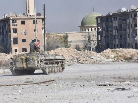 Phe doi lap Syria the quyet chien voi quan doi chinh phu tai Aleppo - Anh 1