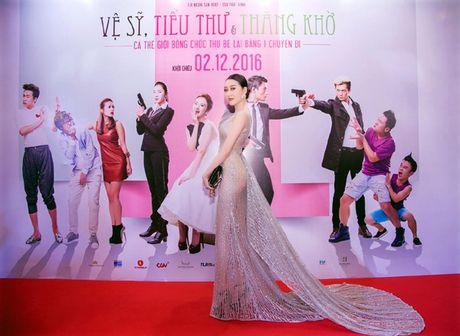 Hoa hau Huynh Thuy Anh dien dam xuyen thau tai xuat quyen ru - Anh 6
