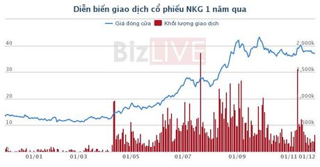 NKG: Unicoh Specialty Chemicals mua 6 trieu co phieu, tro thanh co dong lon - Anh 1