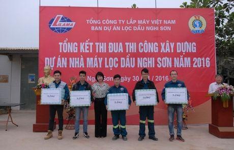 Tong ket thi dua tai du an loc dau Nghi Son - Anh 2
