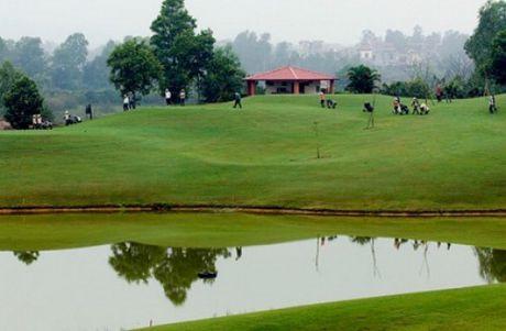 Ha Noi: Kiem tra du an mo rong 18 ho golf tai san golf Quoc te Dao Vua - Anh 1