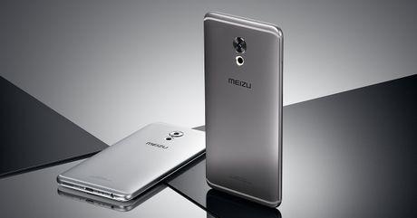 Meizu Pro 6 Plus ra mat: Man hinh 2K, chip Exynos 8890, phim Home do nhip tim - Anh 1