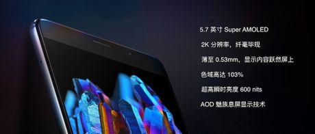 Meizu Pro 6 Plus ra mat: Man hinh 2K, chip Exynos 8890, phim Home do nhip tim - Anh 4