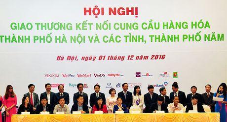 Ket noi cung cau hang hoa: Chia deu co hoi cho doanh nghiep Ha Noi va cac tinh - Anh 2