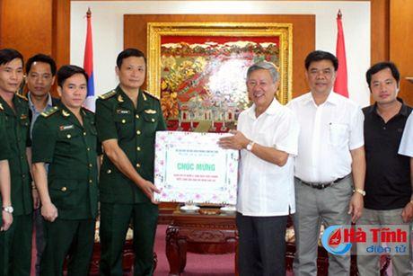 BDBP Ha Tinh chuc mung ngay quoc khanh CHDCND Lao - Anh 1