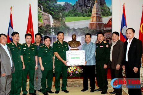 BDBP Ha Tinh chuc mung ngay quoc khanh CHDCND Lao - Anh 2