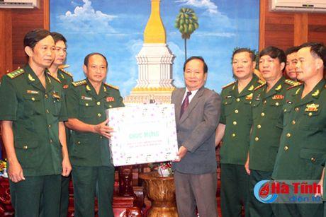 BDBP Ha Tinh chuc mung ngay quoc khanh CHDCND Lao - Anh 3