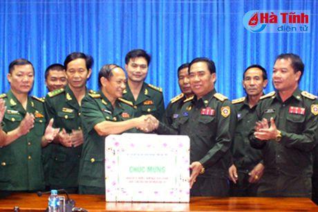 BDBP Ha Tinh chuc mung ngay quoc khanh CHDCND Lao - Anh 5