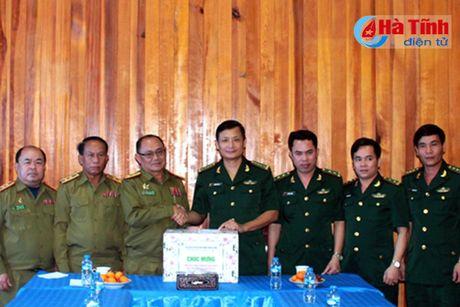 BDBP Ha Tinh chuc mung ngay quoc khanh CHDCND Lao - Anh 6