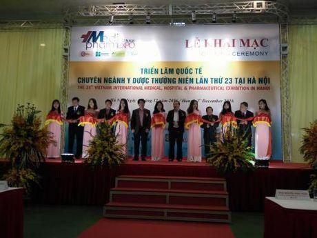 Khai mac Trien lam Vietnam Medi - Pharm Expo 2016 - Anh 1