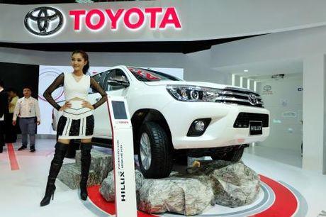Toyota nhan 8 giai thuong ve cong nghe va tieu chuan an toan - Anh 2