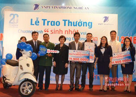 Vinaphone Nghe An: Tri an diem ban hang nam 2016 - Anh 2