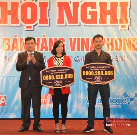 Vinaphone Nghe An: Tri an diem ban hang nam 2016 - Anh 3