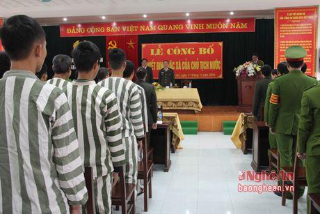 Cong bo quyet dinh dac xa cua Chu tich nuoc cho 147 pham nhan - Anh 1