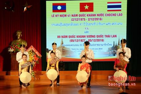 Dai hoc Vinh to chuc Le ky niem Quoc khanh Lao va Thai Lan - Anh 3