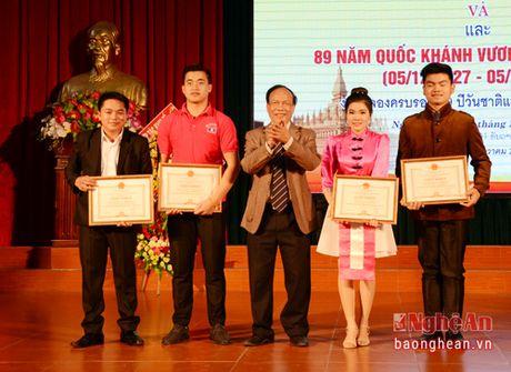 Dai hoc Vinh to chuc Le ky niem Quoc khanh Lao va Thai Lan - Anh 7